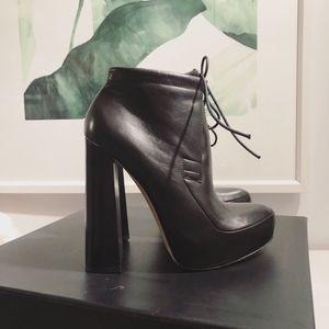 ALEXANDER WANG Constance Ankle Boots Platform Heel